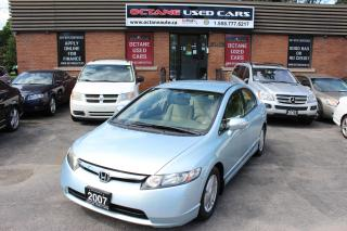 Used 2007 Honda Civic Hybrid Base for sale in Scarborough, ON
