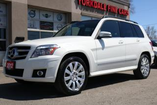 Used 2012 Mercedes-Benz GLK-Class Navigation, Panoramic, Very Clean for sale in North York, ON