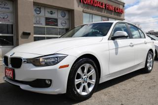 Used 2012 BMW 320 Sport. Navigation. Roof. Clean for sale in North York, ON