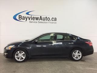 Used 2013 Nissan Altima 2.5 SL - REM START! SUNROOF! HTD LEATHER! NAV! BSD! BOSE! for sale in Belleville, ON
