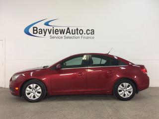 Used 2014 Chevrolet Cruze 1LT - TURBO! 6 SPEED! A/C! MY LINK! REV CAM! CRUISE! for sale in Belleville, ON