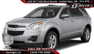 Used 2014 Chevrolet Equinox 1LT for sale in Lethbridge, AB