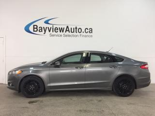 Used 2014 Ford Fusion SE - ECOBOOST! KEYPAD! REM START! HTD LTHR! SYNC! for sale in Belleville, ON