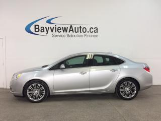 Used 2015 Buick Verano - REM START! SUNROOF! PUSH BTN STRT! HTD LTHR! NAV! REV CAM! for sale in Belleville, ON