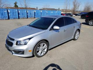 Used 2015 Chevrolet Cruze LTZ for sale in Gloucester, ON