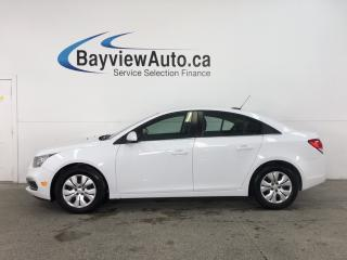 Used 2016 Chevrolet Cruze - 6 SPD! A/C! MY LINK! REVERSE CAM! CRUISE! for sale in Belleville, ON