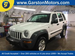 Used 2004 Jeep Liberty SPORT*4WD********AS IS SALE*******KEYLESS ENTRY*POWER WINDOWS/LOCKS/MIRRORS*CRUISE CONTROL*CLIMATE CONTROL* for sale in Cambridge, ON