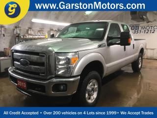 Used 2013 Ford F-250 CREW CAB*SUPER DUTY*4WD*MICROSOFT SYNC PHONE CONNECT*TRAILER BRAKE CONTROL*POWER DRIVER SEAT* for sale in Cambridge, ON