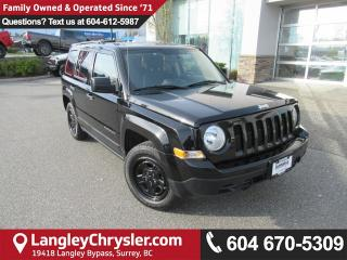 Used 2016 Jeep Patriot Sport/North <B>*ACCIDENT FREE*LOW KMS*<b> for sale in Surrey, BC