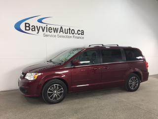Used 2017 Dodge Grand Caravan CVP/SXT - FLEX FUEL! 3 ZONE CLIMATE! for sale in Belleville, ON