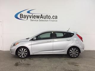 Used 2017 Hyundai Accent - ALLOYS! SUNROOF! HTD STS! BLUETOOTH! CRUISE! for sale in Belleville, ON