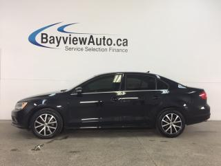 Used 2015 Volkswagen Jetta 2.0 TDI Comfortline - EMISSIONS FIX! TINT! SUNROOF! REVERSE CAM! DUAL CLIMATE! for sale in Belleville, ON