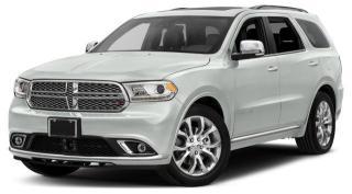 New 2018 Dodge Durango Citadel for sale in Abbotsford, BC
