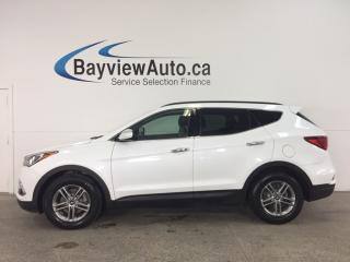 Used 2018 Hyundai Santa Fe Sport - ALLOYS! PANOROOF! HTD LTHR! REV CAM! RCTA! HTD STEERING WHEEL! for sale in Belleville, ON