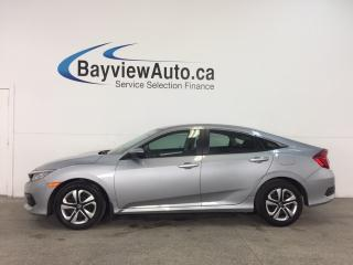 Used 2018 Honda Civic LX - AUTO! ECO MODE! HEATED SEATS! REVERSE CAM! HONDA LINK! for sale in Belleville, ON