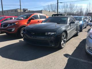 Used 2015 Chevrolet Camaro Lt Cabriolet for sale in Laval, QC