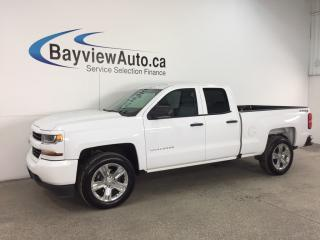 Used 2017 Chevrolet Silverado 1500 - DBL CAB! CHROMES! A/C! WIFI! BLUETOOTH! for sale in Belleville, ON