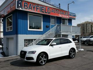Used 2015 Audi Q5 3.0T Technik S-Line **Navigation/Panoramic Sunroof** for sale in Barrie, ON