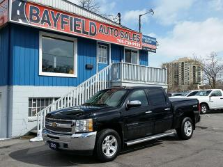 Used 2012 Chevrolet Silverado 1500 Crew Cab 4x4 **Alloys/Bluetooth/Only 90k!** for sale in Barrie, ON