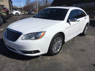 Used 2012 Chrysler 200 Limited for sale in Cobourg, ON