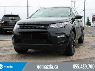 Used 2016 Land Rover Discovery Sport HSE SPORT 4X4 BLACKOUT EDITION CLEAN WHIP for sale in Edmonton, AB