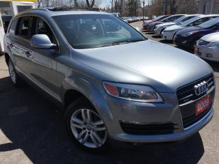 Used 2009 Audi Q7 7PASSENGER/LEATHER/ROOF/ALLOYS/AWD!! for sale in Scarborough, ON