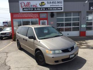Used 2004 Honda Odyssey LX CAPTAIN CHAIRS for sale in London, ON