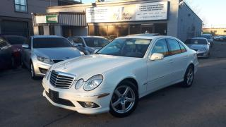 Used 2009 Mercedes-Benz E-Class 3.5L AMG PKG. w/NAV for sale in Etobicoke, ON