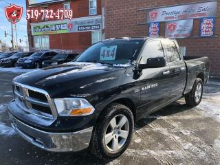 Used 2011 Dodge Ram 1500 5.7L/4X4/HEMI/NO ACCIDENT/CERTIFIED/WARRANTY INCL for sale in Cambridge, ON