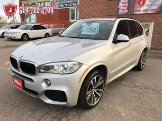 Used 2015 BMW X5 xDrive35d/M-SPORT/DIESEL/CERTIFIED/WARRANTY INCLUD for sale in Cambridge, ON