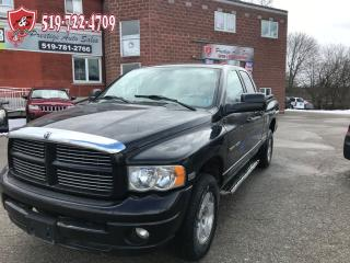 Used 2005 Dodge Ram 1500 LARAMIE/5.7/ HEMI/4X4/ONE OWNER/NO ACCIDENT for sale in Cambridge, ON