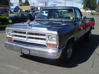 Used 1987 Dodge Ram D100 for sale in Parksville, BC