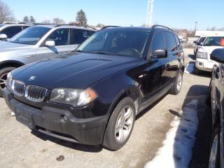 Used 2005 BMW X3 3.0I for sale in Oshawa, ON