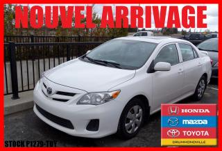 Used 2013 Toyota Corolla T.ouvrant for sale in Drummondville, QC