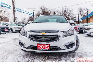 Used 2015 Chevrolet Cruze 1LT BACKUP CAMERA ACCIDENT FREE for sale in Brampton, ON