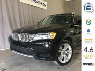 Used 2012 BMW X3 35i | GPS | CUIR for sale in St-Hyacinthe, QC