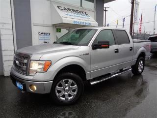 Used 2013 Ford F-150 XLT XTR Crew 4x4, Pwr. Seat, Rev. Camera/Sensors for sale in Langley, BC