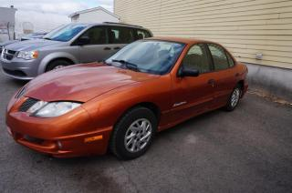 Used 2005 Pontiac Sunfire 4DR SDN NEGOCIABLE for sale in Mascouche, QC