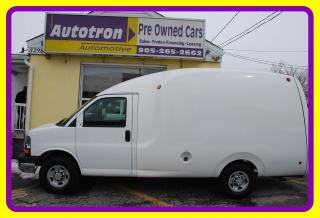 Used 2010 Chevrolet Express 3500 1 Ton Unicell Body Bubble Van for sale in Woodbridge, ON