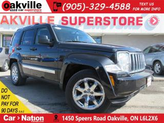 Used 2008 Jeep Liberty Limited Edition | LEATHER | AWD | CRUISE CONTROL for sale in Oakville, ON