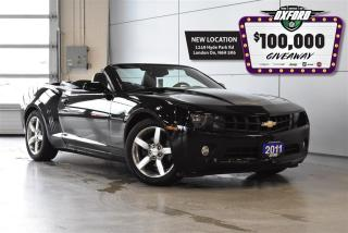 Used 2011 Chevrolet Camaro Convertible - Bluetooth, Heated Seats, Parksense for sale in London, ON
