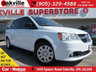Used 2014 Dodge Grand Caravan SE/SXT | STOW N GO | BLUETOOTH | REMOTE START for sale in Oakville, ON