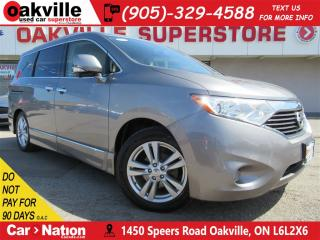 Used 2013 Nissan Quest 3.5 LE | LEATHER | PWR SLIDING DOOR | NAV |360 CAM for sale in Oakville, ON