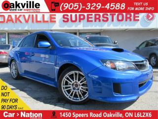 Used 2011 Subaru Impreza WRX STi Sport-tech | 6 SPEED M/T | A/C | LOW KM | BT | AWD for sale in Oakville, ON