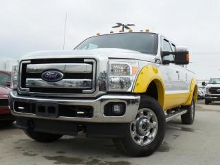 Used 2015 Ford F-250 Super Duty SRW LARIAT 6.2L Gas Navigation, Leather for sale in Midland, ON