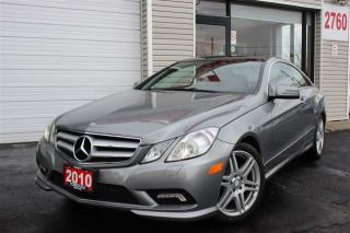 Used 2010 Mercedes-Benz E-Class E350. Coupe Style. Panoramic. Camera. Extra Clean for sale in North York, ON
