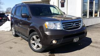 Used 2013 Honda Pilot EX-L 4WD 5-Spd AT with DVD for sale in Kitchener, ON