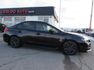 Used 2015 Subaru WRX Sport-Tech Premium Camera Certified Warranty for sale in Milton, ON