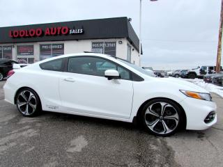 Used 2015 Honda Civic Si Coupe 6-Speed Manual Navigation Camera Certified for sale in Milton, ON