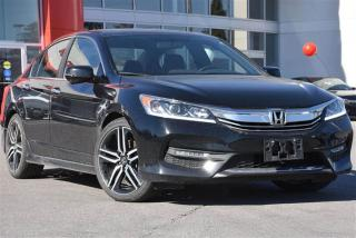Used 2017 Honda Accord Sedan L4 Sport 6MT Clean Carproof|Honda Canada Dem for sale in Pickering, ON
